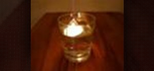 Make a steam candle