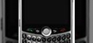 Use a BlackBerry Curve 8330 cell phone