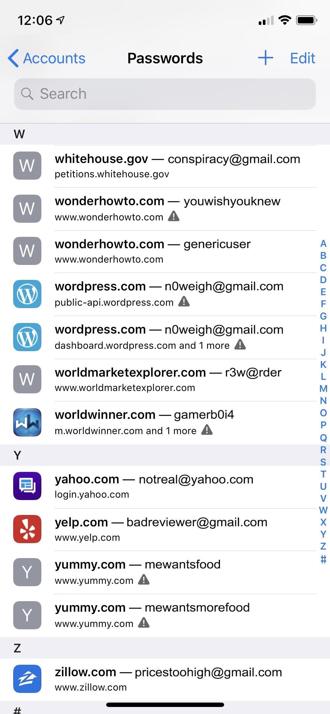 How to make weak reused passwords easier to use in iOS12