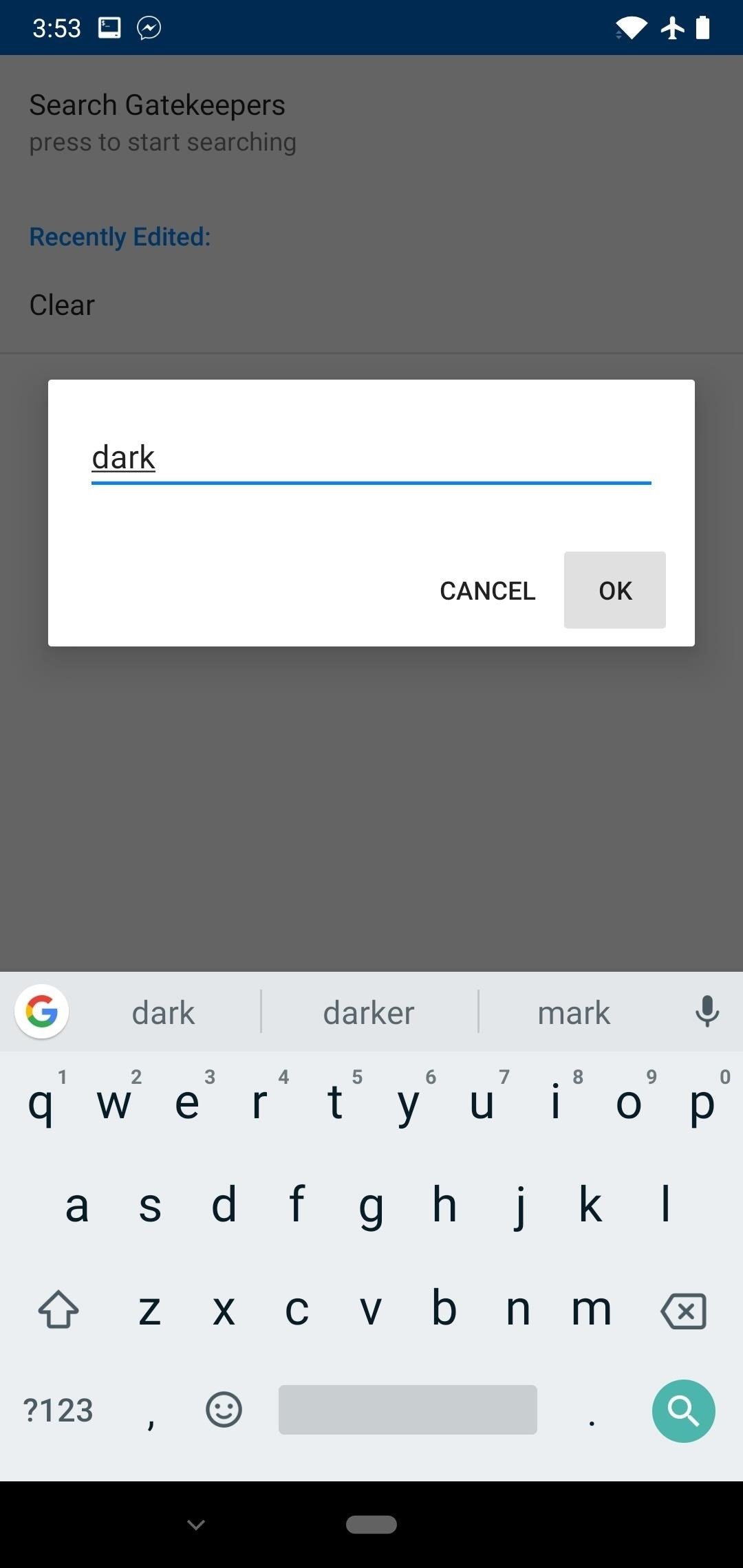 Enabling Hidden Dark Mode in Facebook Messenger