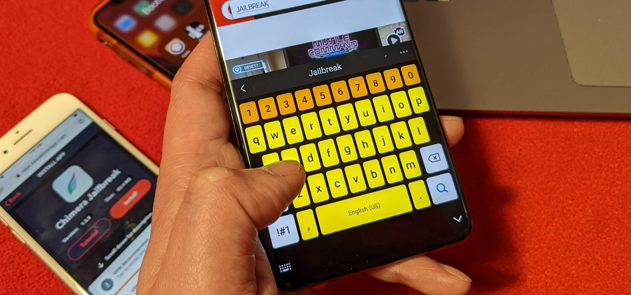 Samsung's High Contrast Keyboard Will Actually Help You Type Faster