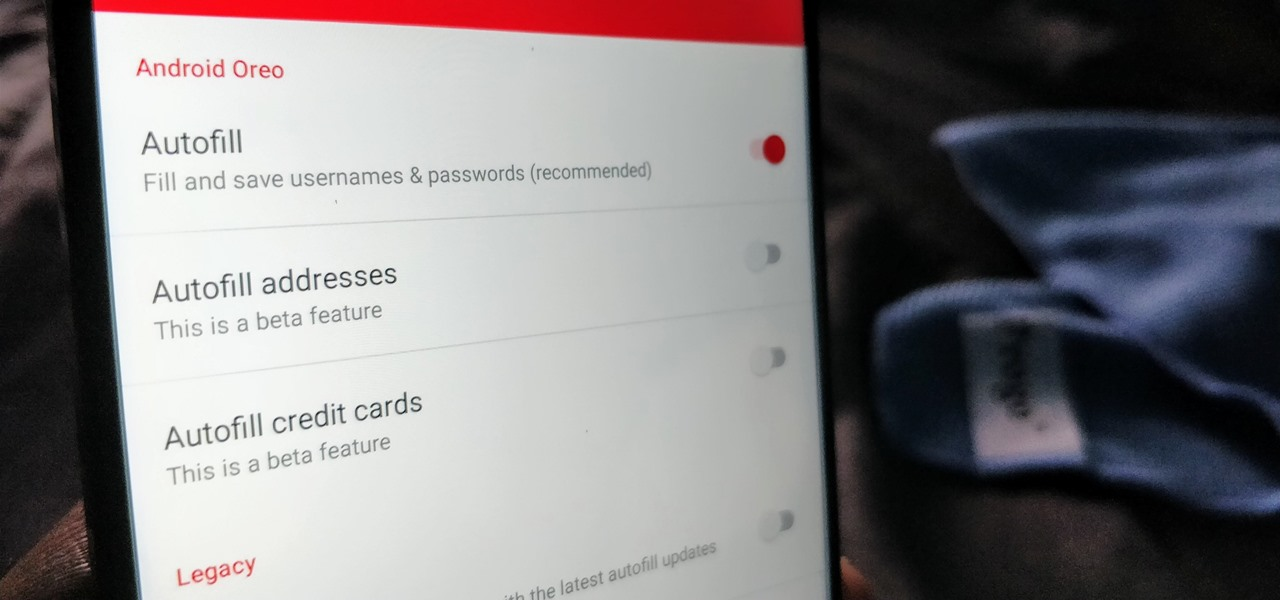 How To: LastPass's AutoFill API Is Finally Out of Beta - Here's How Oreo Users Can Turn It On