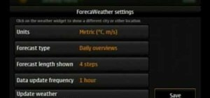 Use widgets on the Nokia N900