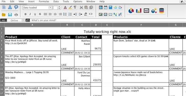 Excellbook Hides Your Facebook Addiction at Work in a Fake Spreadsheet
