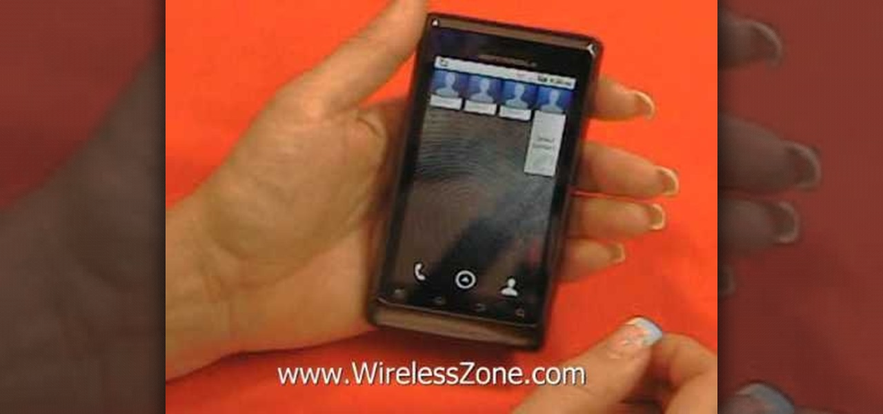 How to Set up and use the basic features of a Motorola Droid