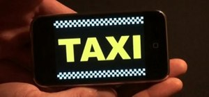 Hail a cab with the Taxi Hold em iPhone app