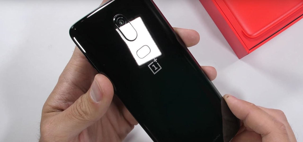 Watch JerryRigEverything Scratch, Burn & Bend the New All-Glass OnePlus 6