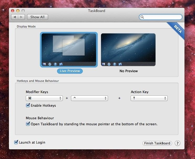 how to open the search bar on mac