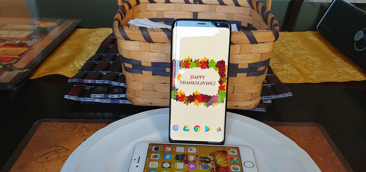 A Smartphone User's Guide to Surviving Thanksgiving
