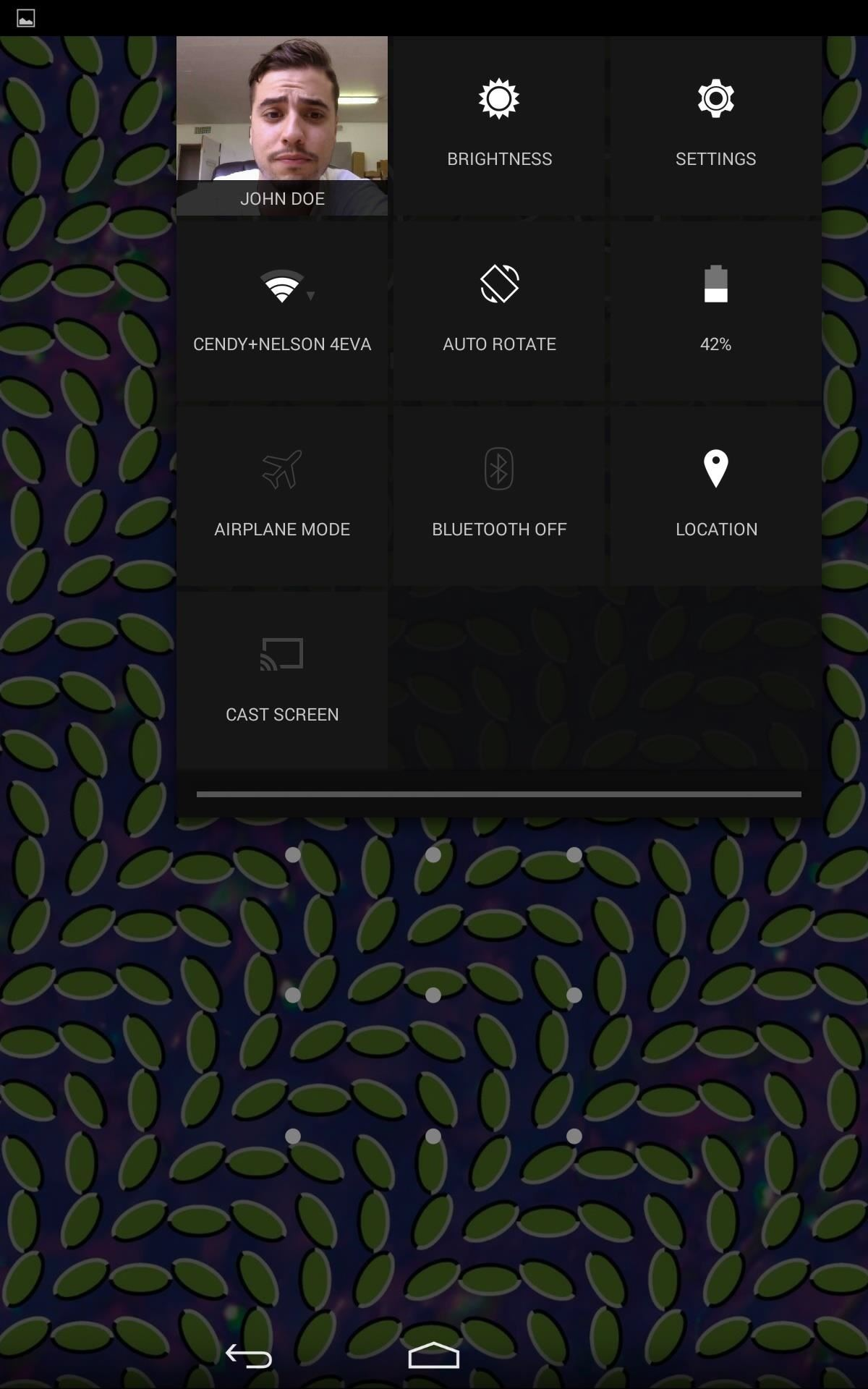 How to Access Notifications & Quick Settings from a Secured Lock Screen on Your Nexus 7