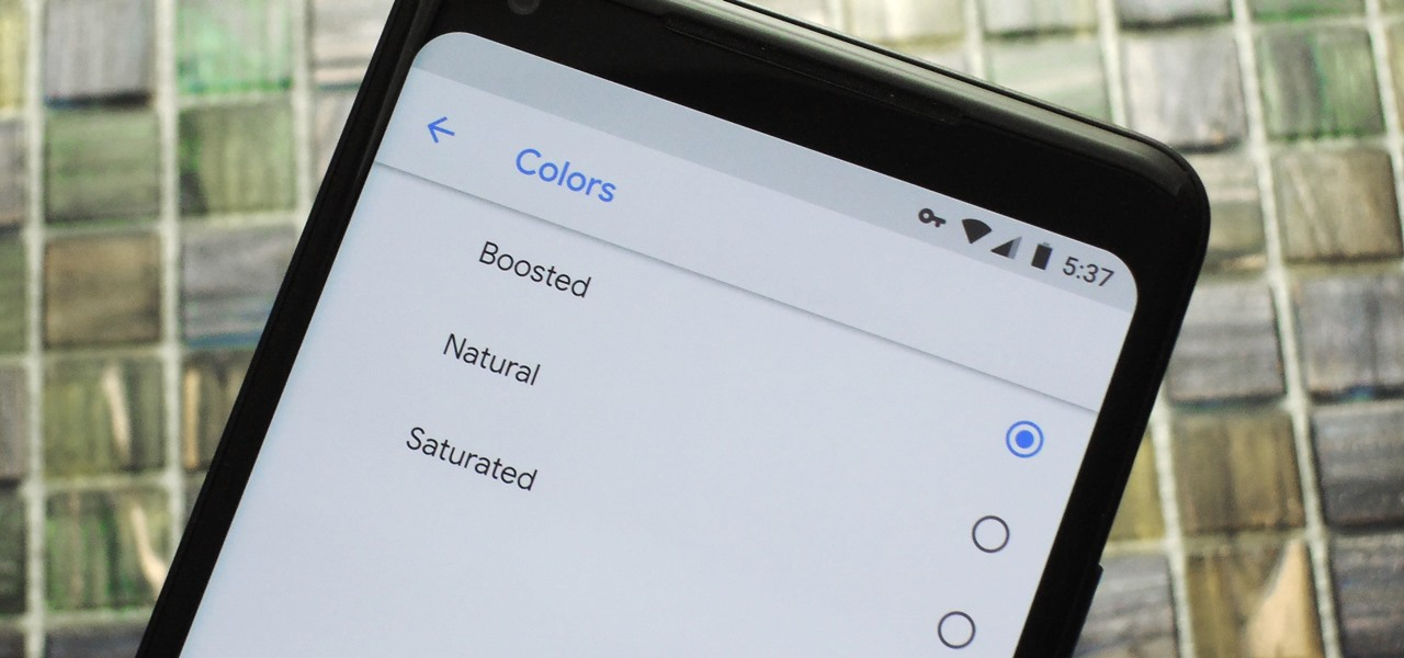 Pixel 2 XL Update Adds 'Saturated' Color Profile & Anti-Burn-in Tweaks