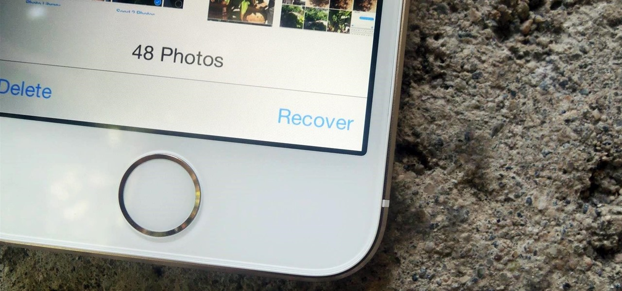 Recover Deleted Photos & Videos from Your iPhone or iPad in iOS 8