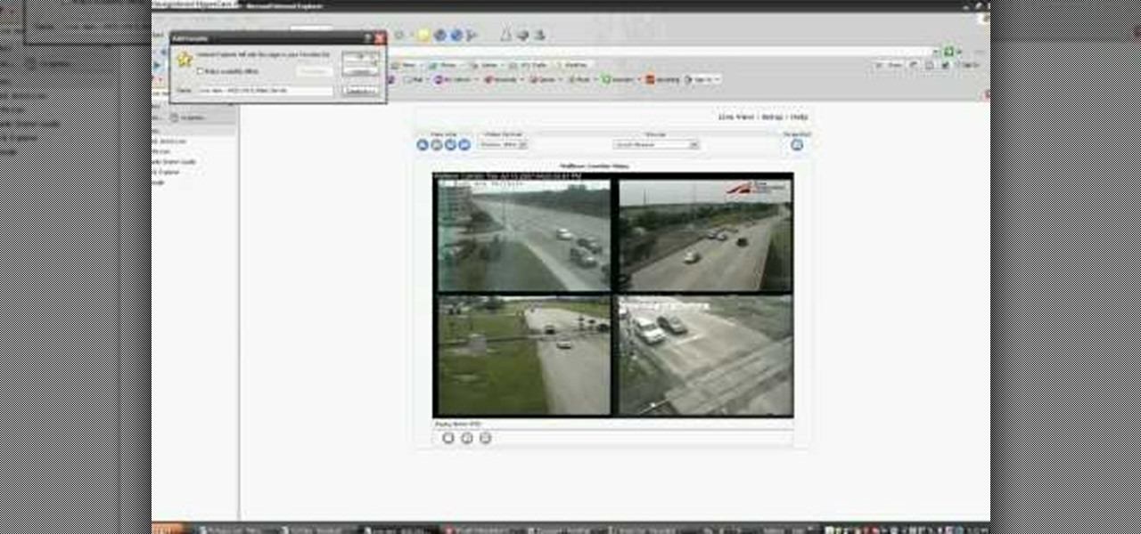 How to Hack into live, public security cameras and web cams « Hacks
