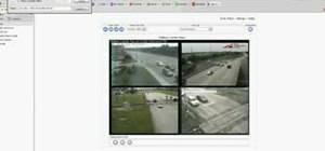 Hack into live, public security cameras and web cams