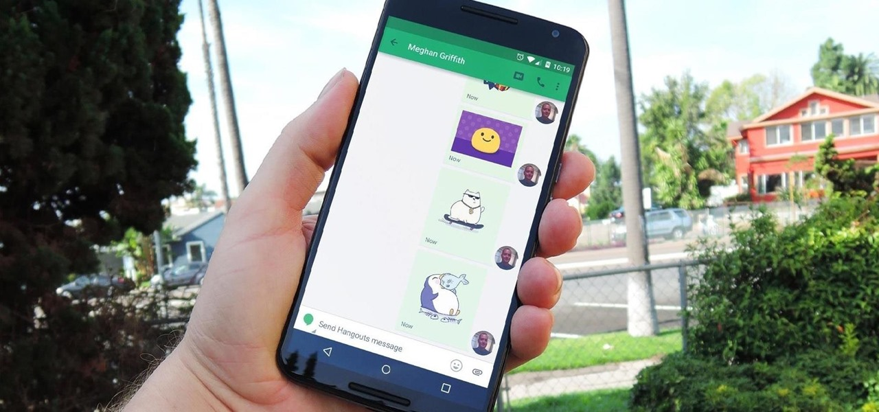 Hangouts for Android Updated with Material Design, Stickers, & More (APK Inside)
