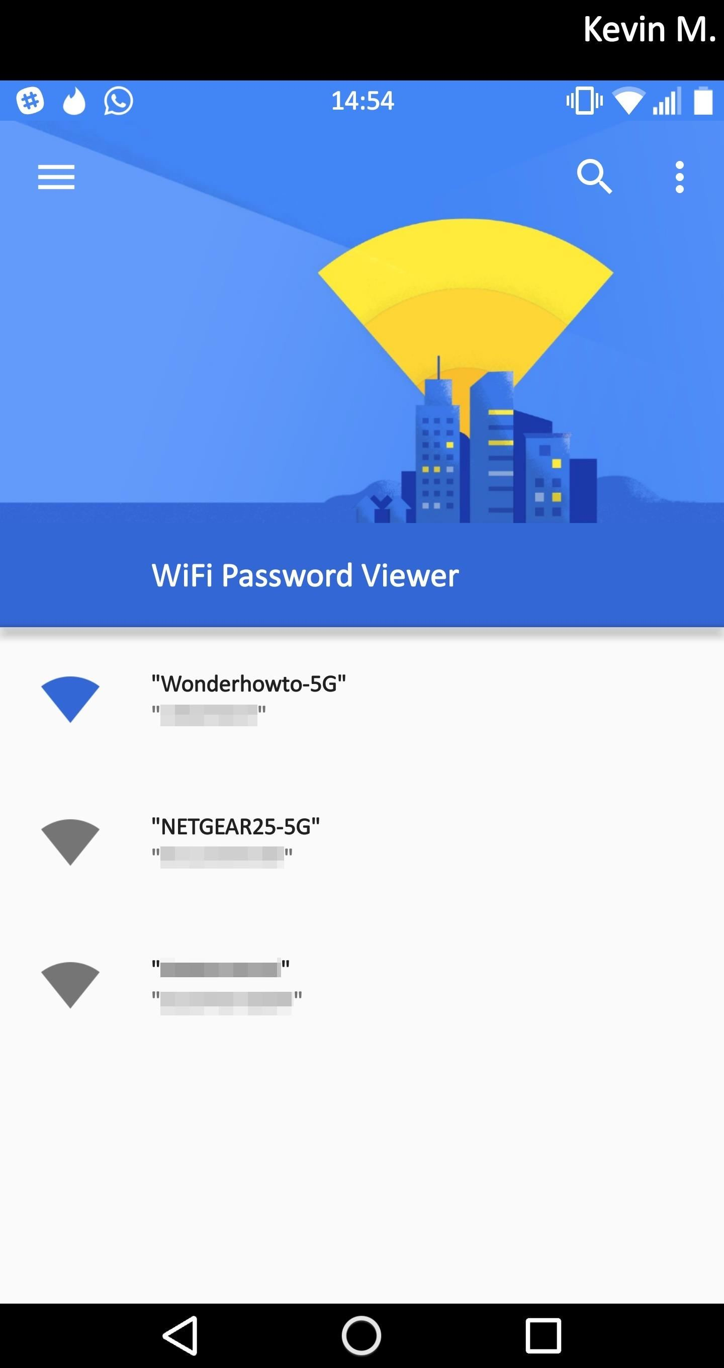 How to Easily See Passwords for Wi-Fi Networks You've Connected Your Android Device To