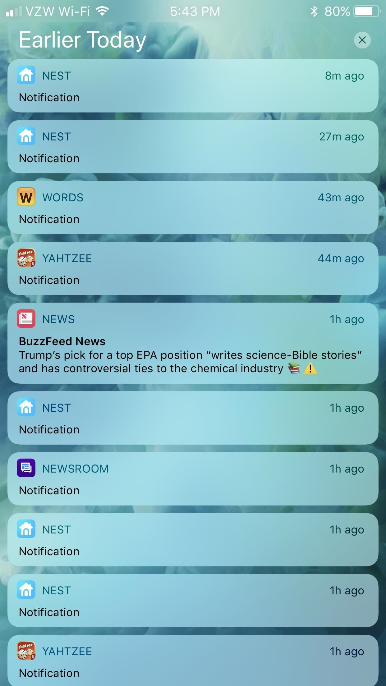 How to Block Certain Apps from Appearing in Your Notifications History in iOS 11