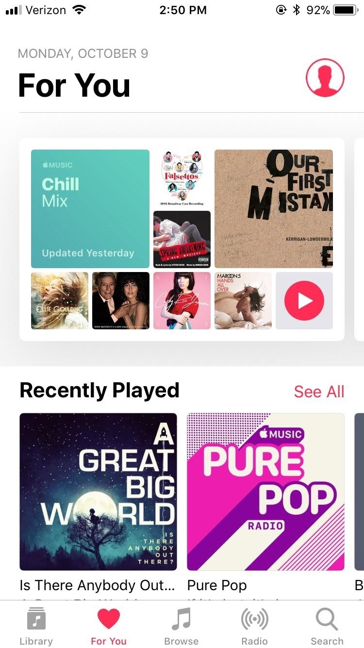 How to Make Your Apple Music Account Public or Private in iOS 11