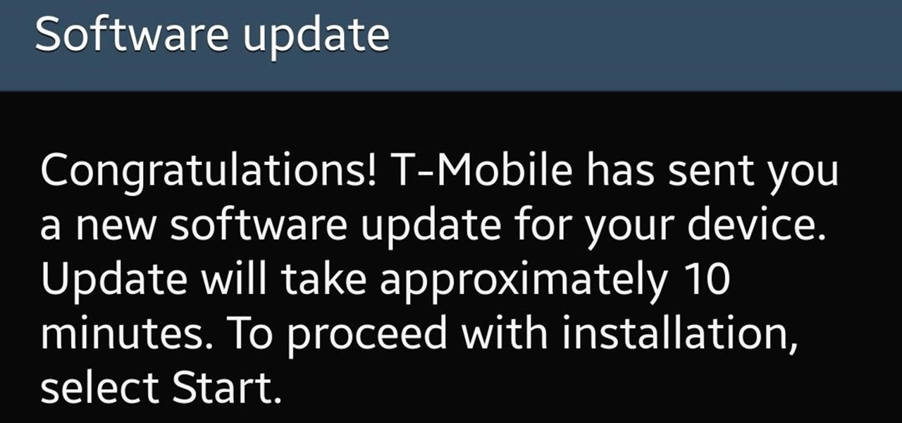 KitKat Update Rolling Out Now for Your T-Mobile Samsung Galaxy S4