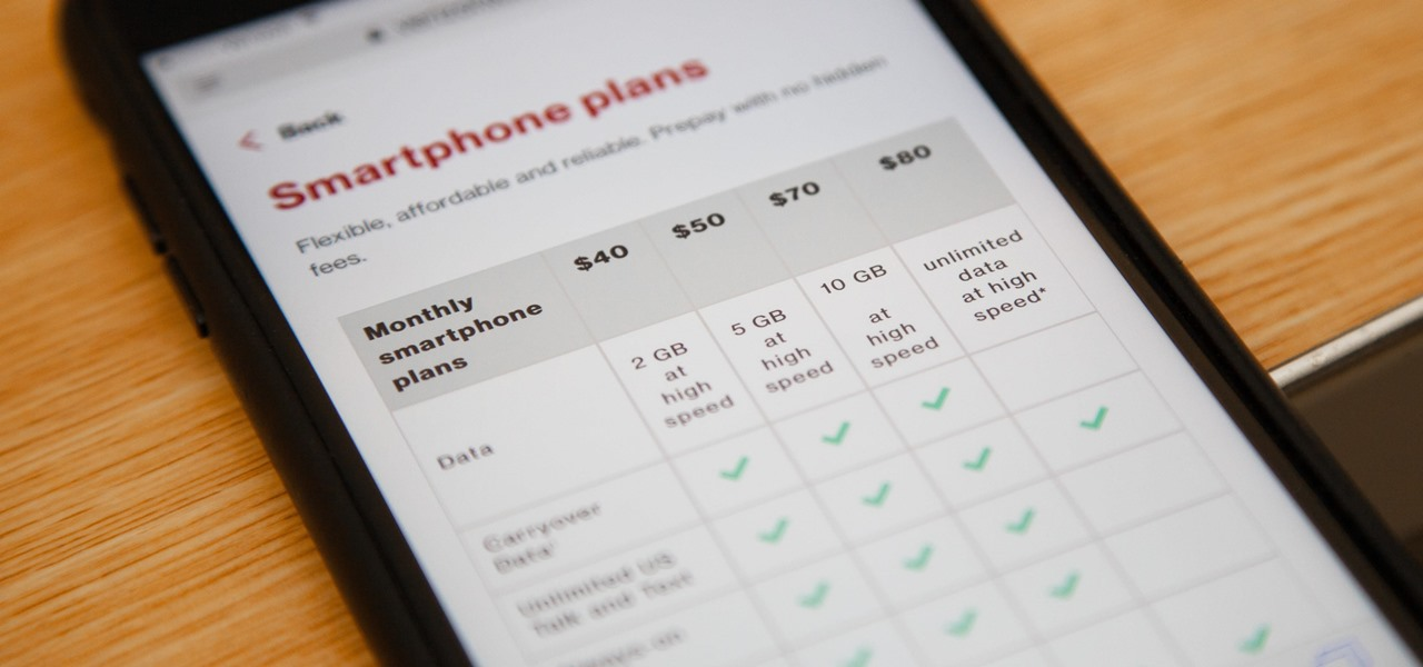 Verizon's $80 'Unlimited' Plan Actually Has Lots of Limits
