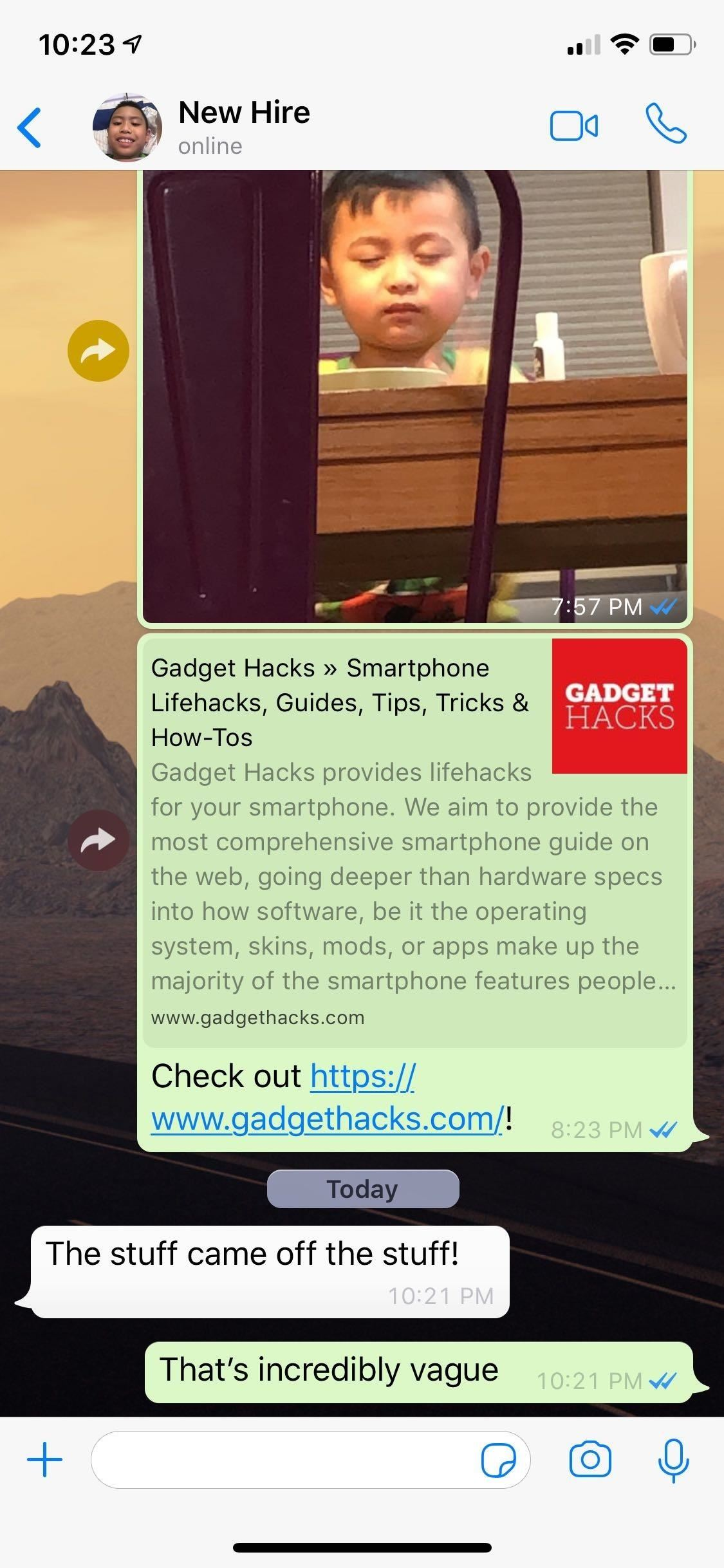 How to Add Time & Location Stickers to Media Files on WhatsApp for More Context