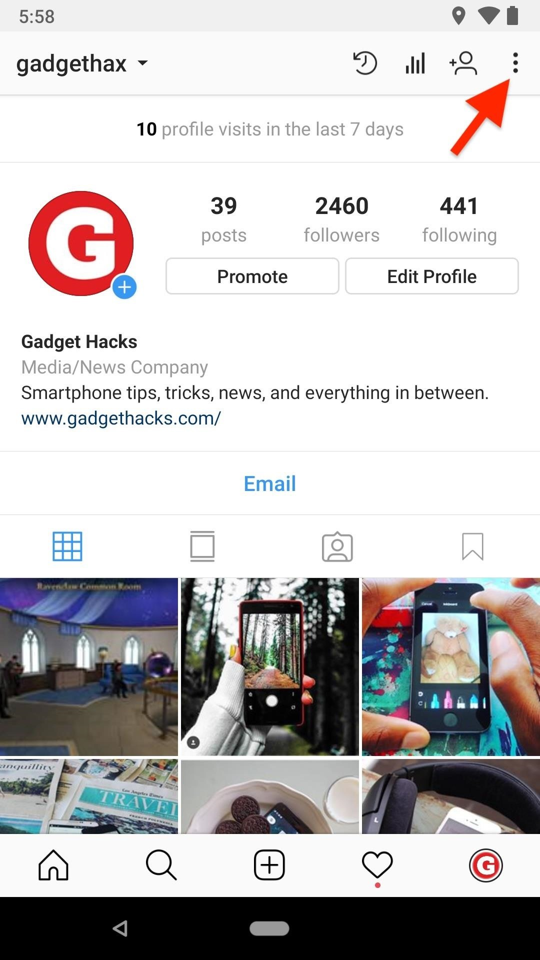 Go Incognito on Instagram by Turning Off Your Green Dot