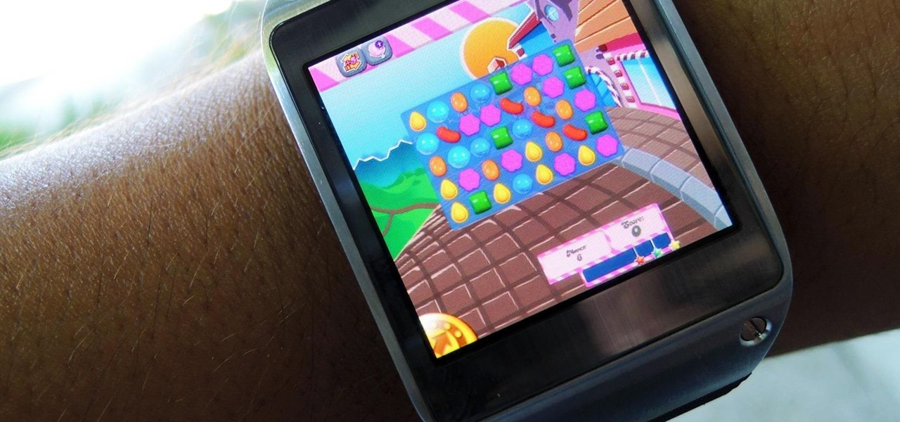 Install & Play Candy Crush Saga (& Other Games) on Your Samsung Galaxy Gear Smartwatch
