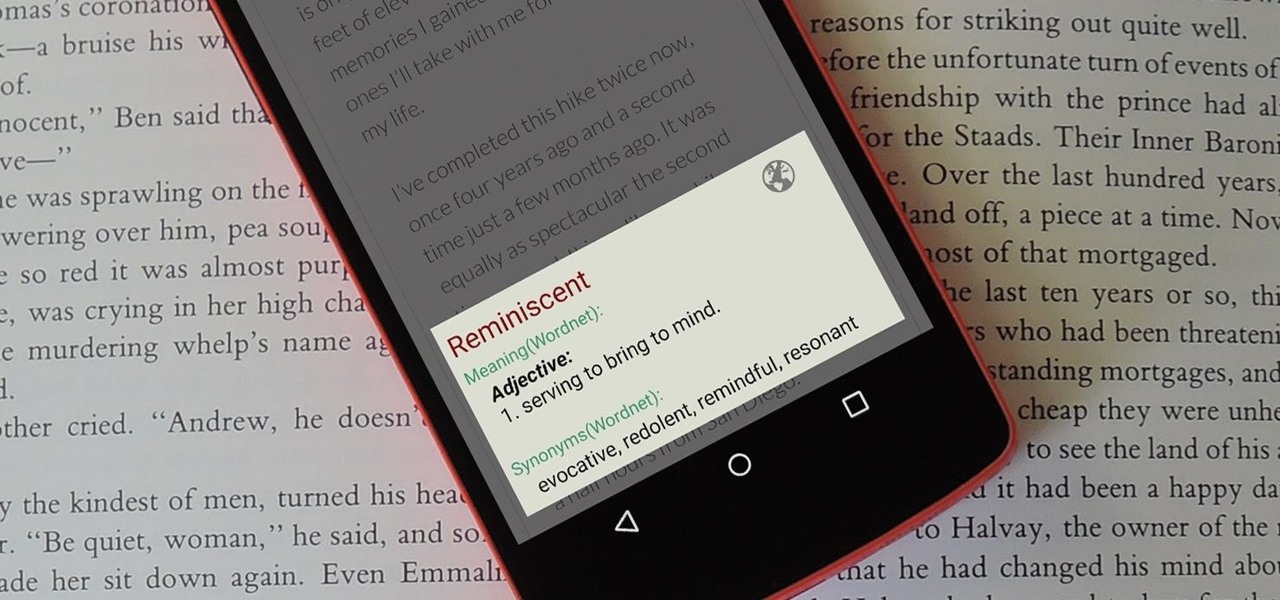 Add a Pop-Up Dictionary to Any Android App for Quick & Easy Word Definitions