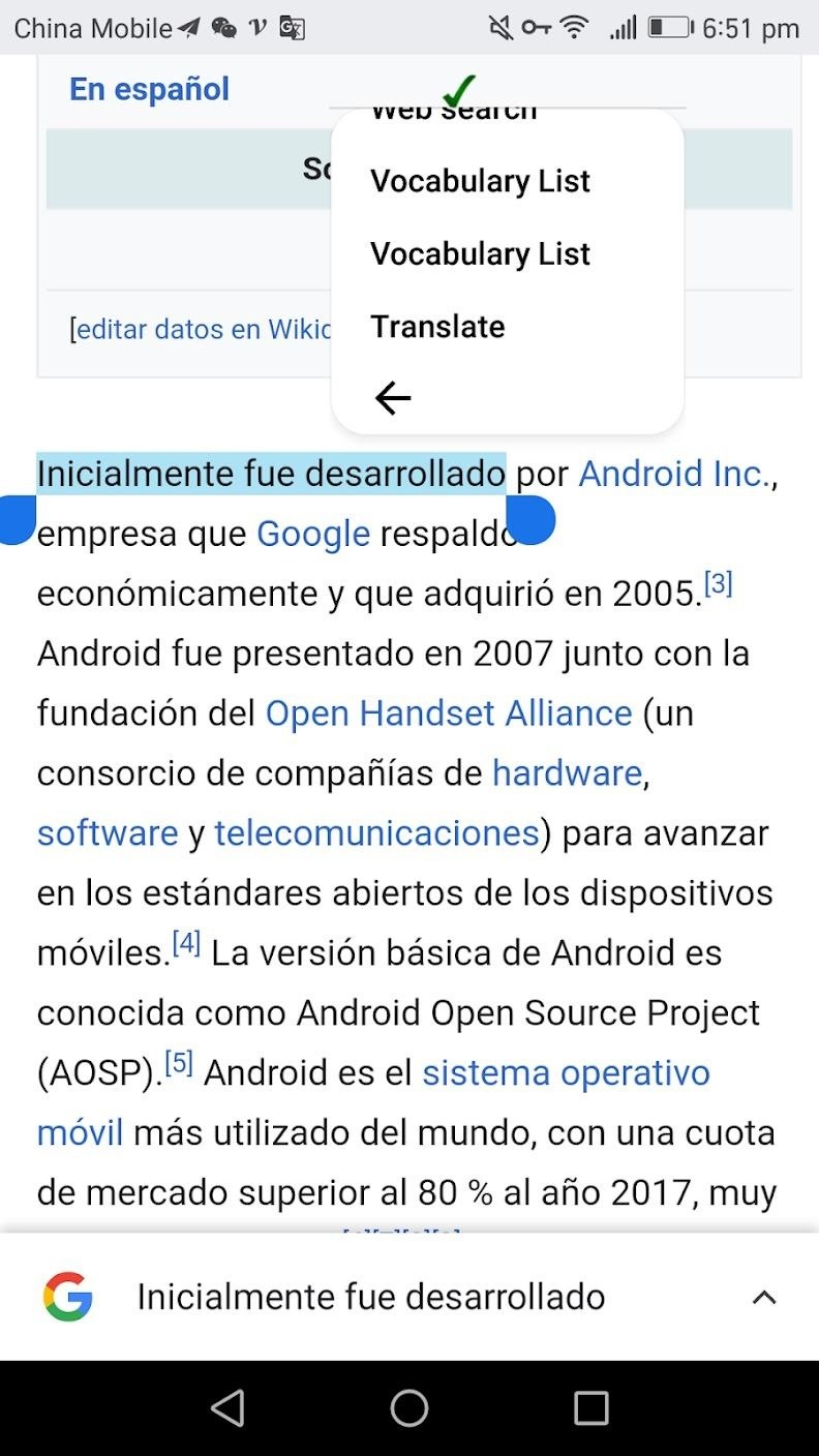 How to Translate Text in Any Android App