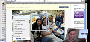 Sync iPhoto albums with Facebook