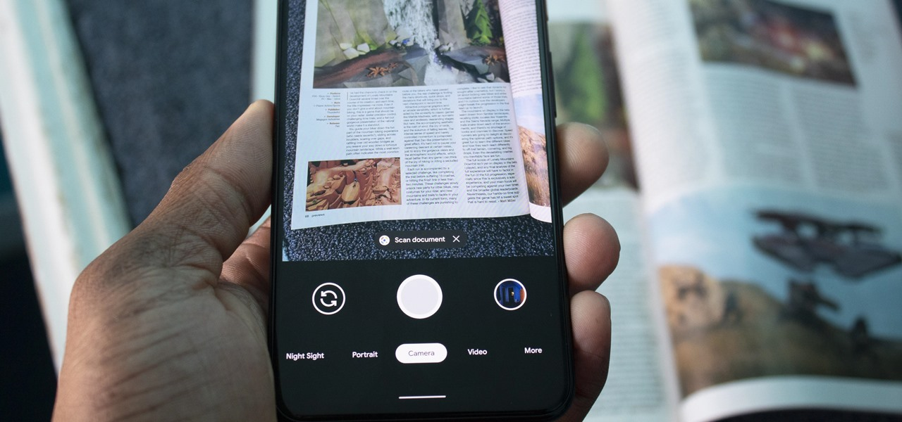 Google Camera on the Pixel 4 Has a Document Scanner Built in — Here's How to Use It