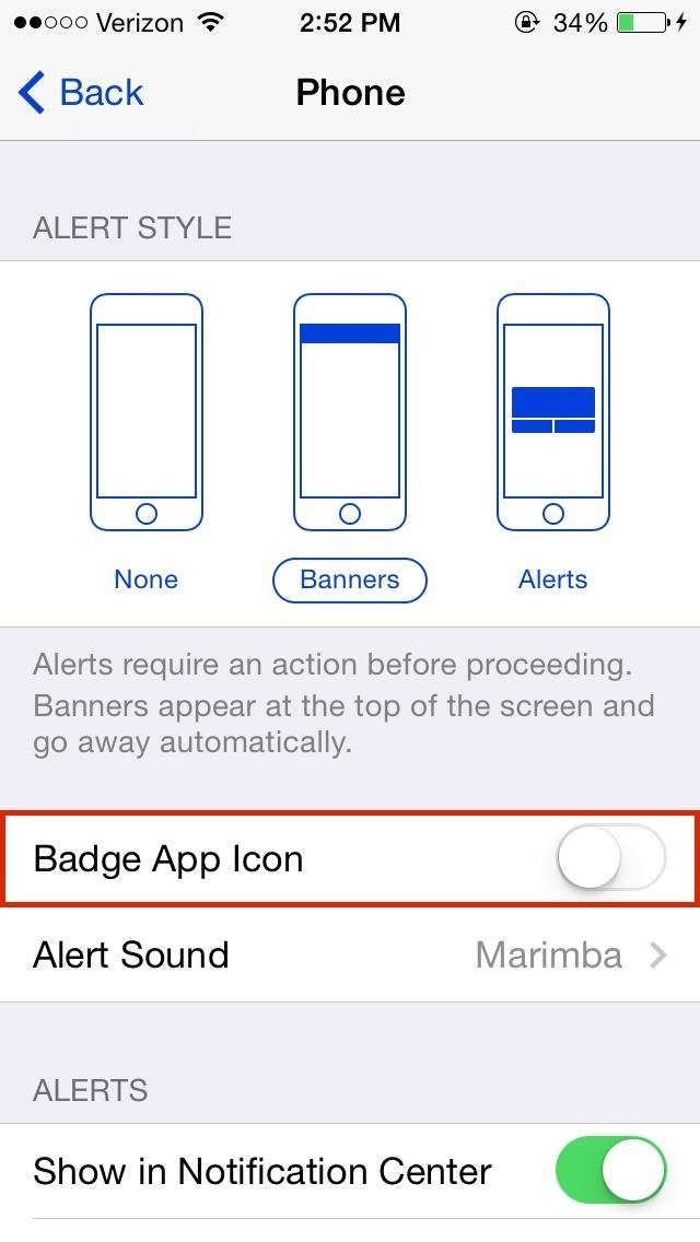 How To Disable The Annoying Red Badge Alerts For Apps On Your