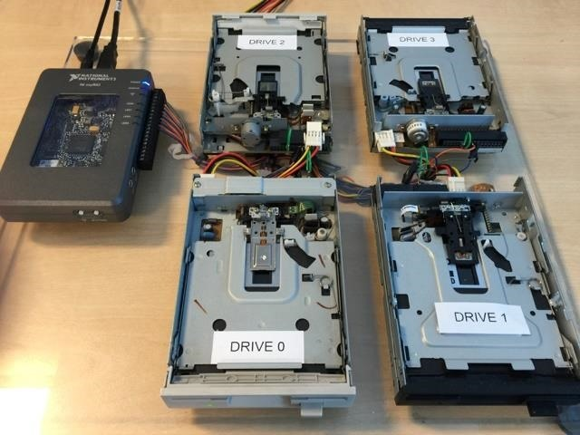 How to Make Music with Floppy Drives & LabVIEW