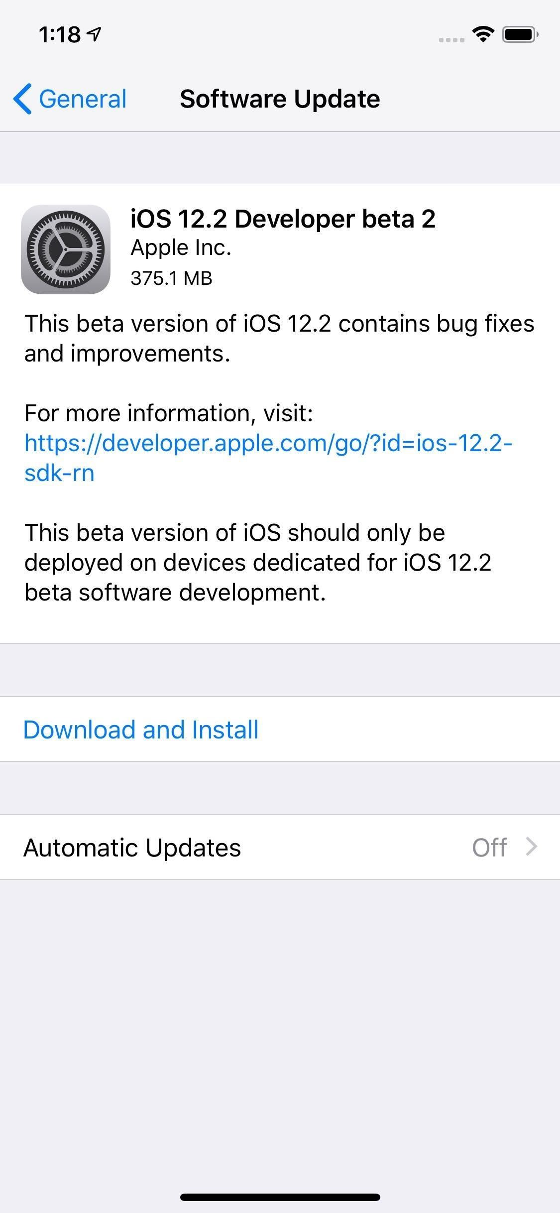 Apple Just Released iOS 12.2 Beta 2 for iPhone to Developers, Includes Four New Animoji