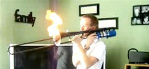 DIY Trombone Flamethrower Hurls Flames AND Carries a Tune