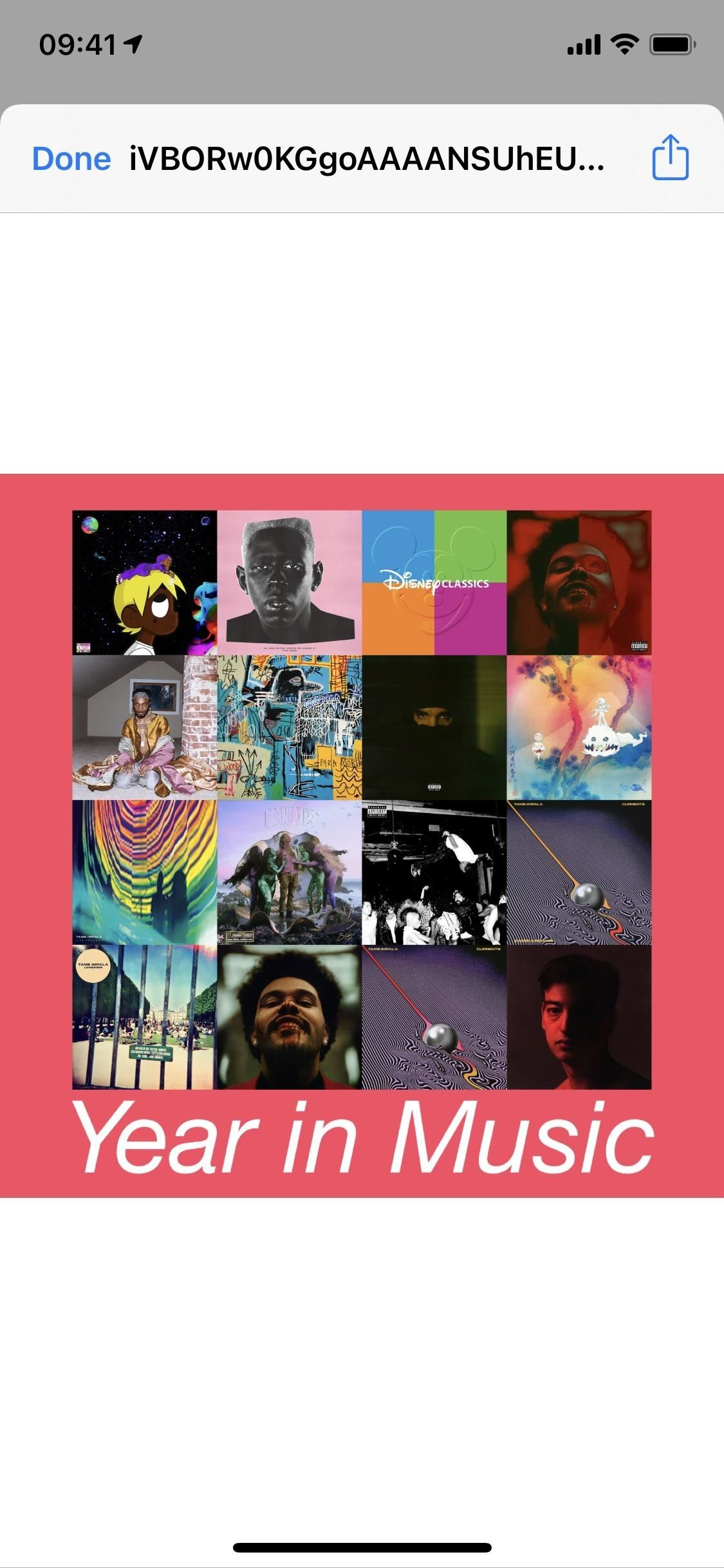 Create a 'My Year in Music' Cover Art Collage from Your iPhone's Music Library to Share on Social Media