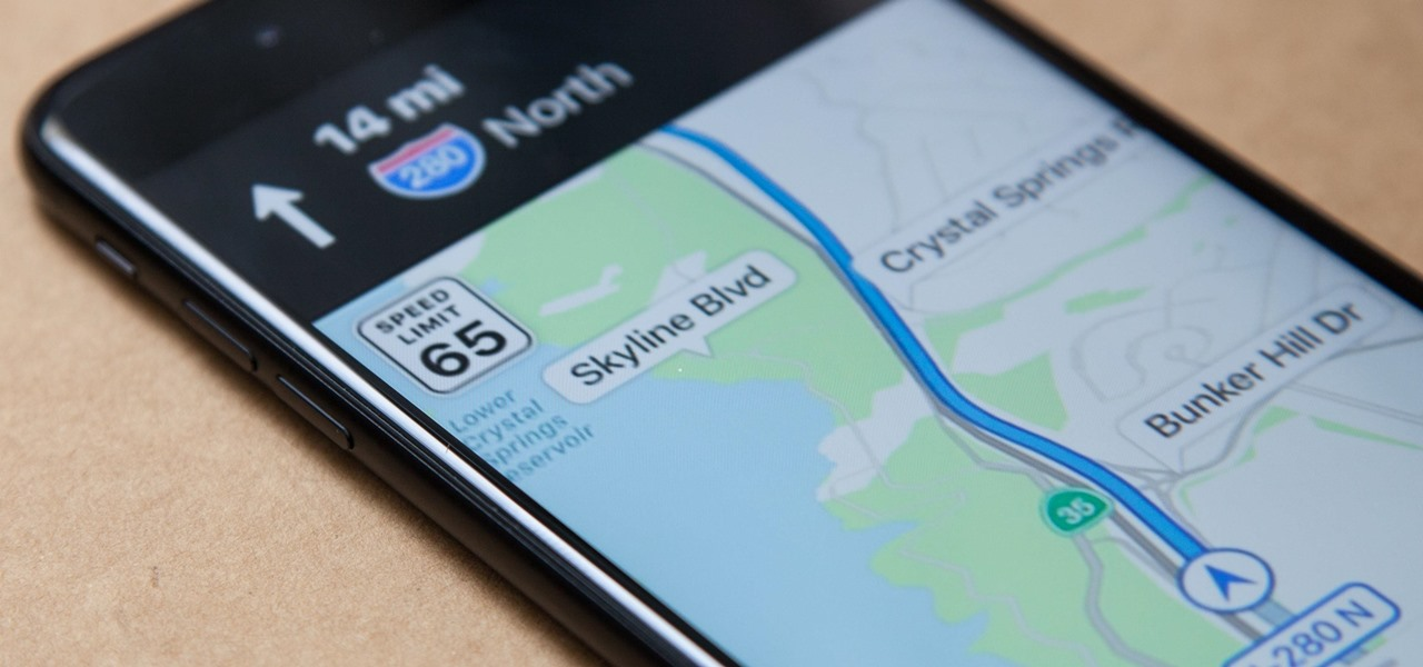 Turn Off the Speed Limit Indicator in Maps for iPhone in iOS 11
