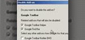 Add or remove Internet Explorer 8 add-ons on a Microsoft Windows PC