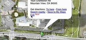 Editing physical locations in Google Maps