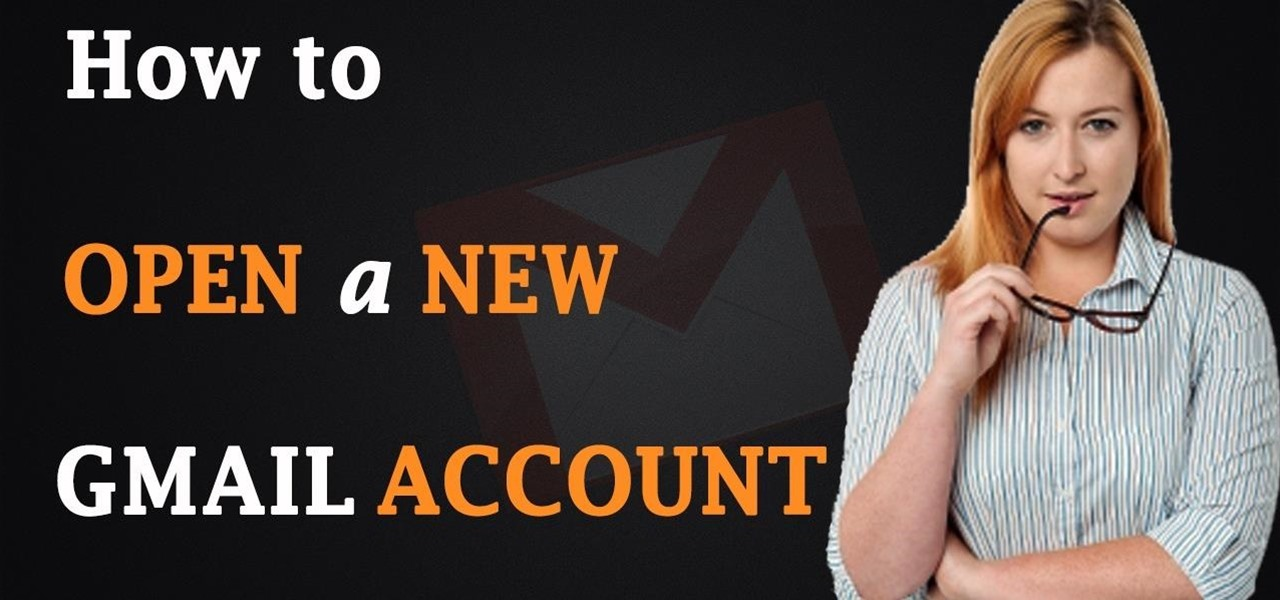 Open a New Gmail Account