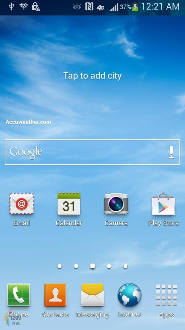"New Leaked Screenshots of the Samsung Galaxy S4 Confirm ""Smart"" Features and More!"