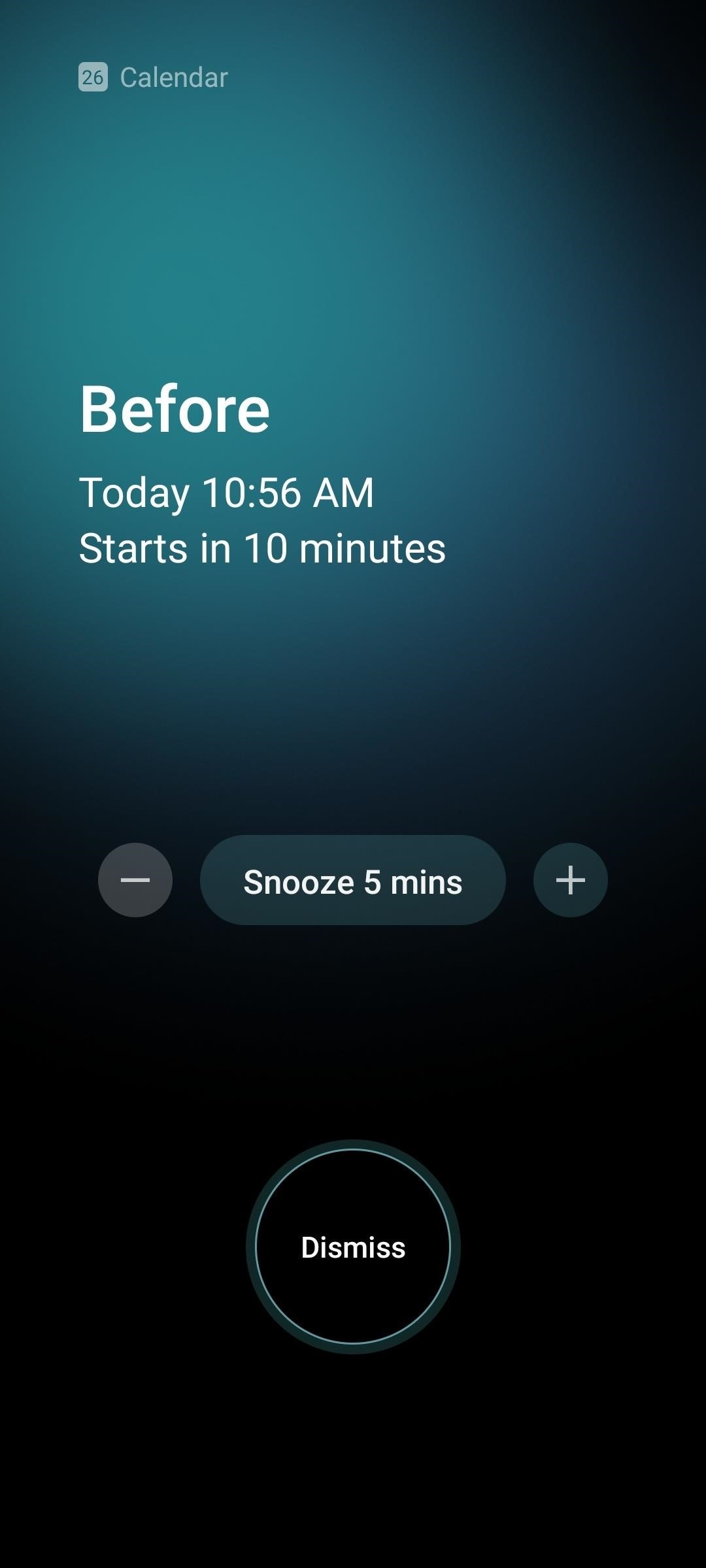 How to Disable the Full-Screen Calendar Alerts on Your Samsung Galaxy Phone