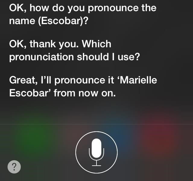 How to Make Siri Pronounce Contact Names Correctly in iOS 7