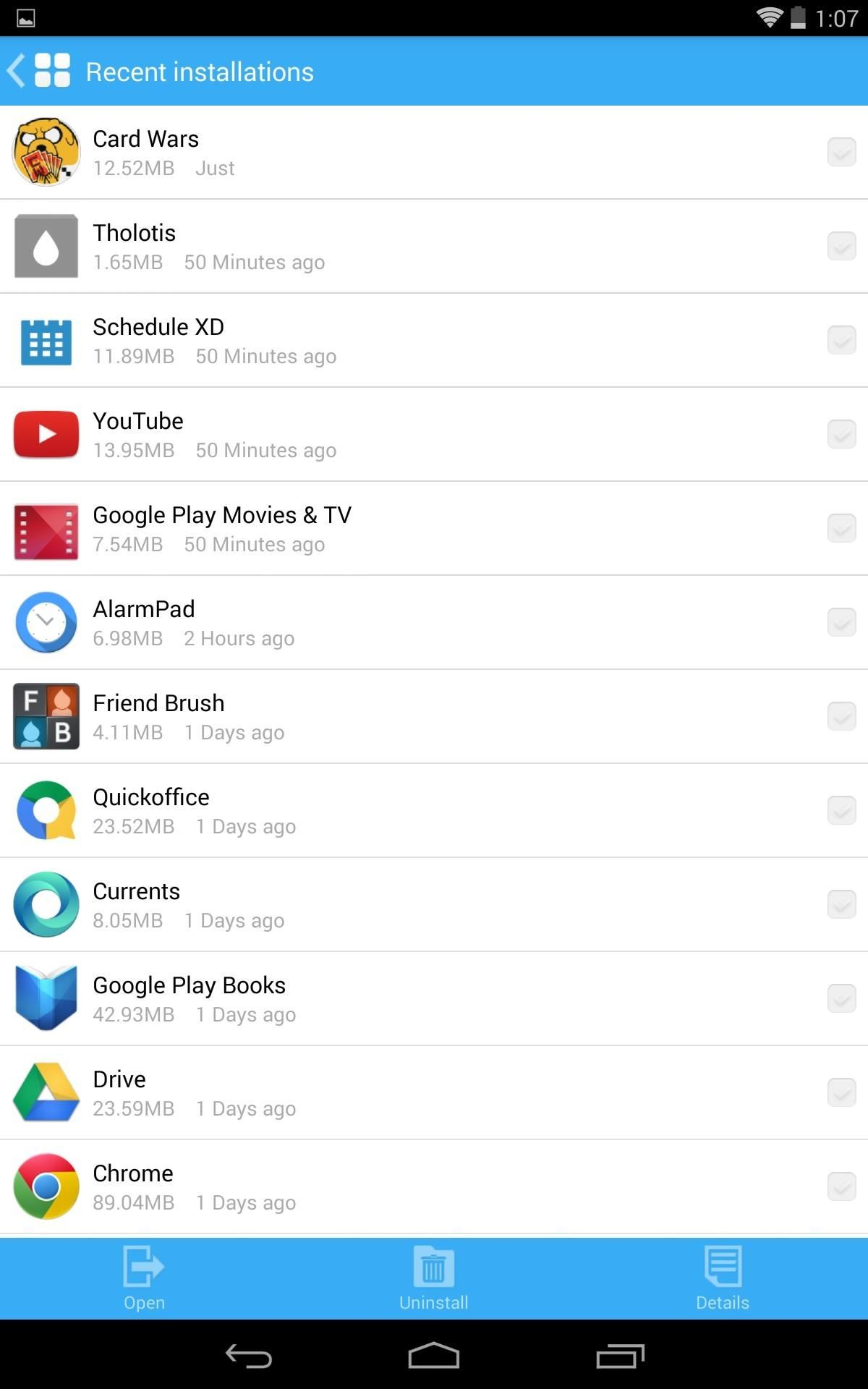 The Easiest Way to Access Recent Files & Photos on Your Nexus 7
