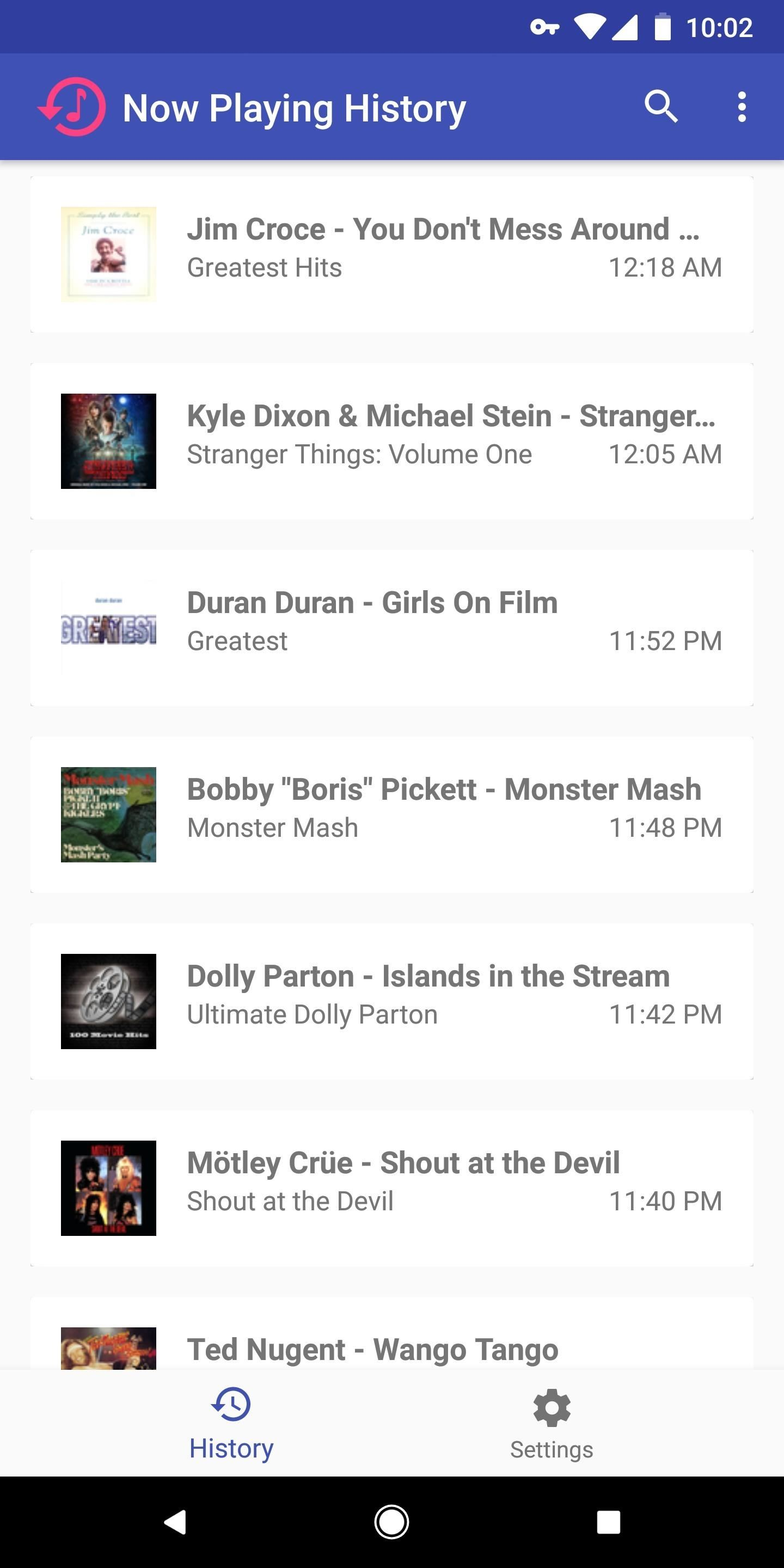 Now Playing History Lets You See All the Songs Your Pixel 2 Has Recognized