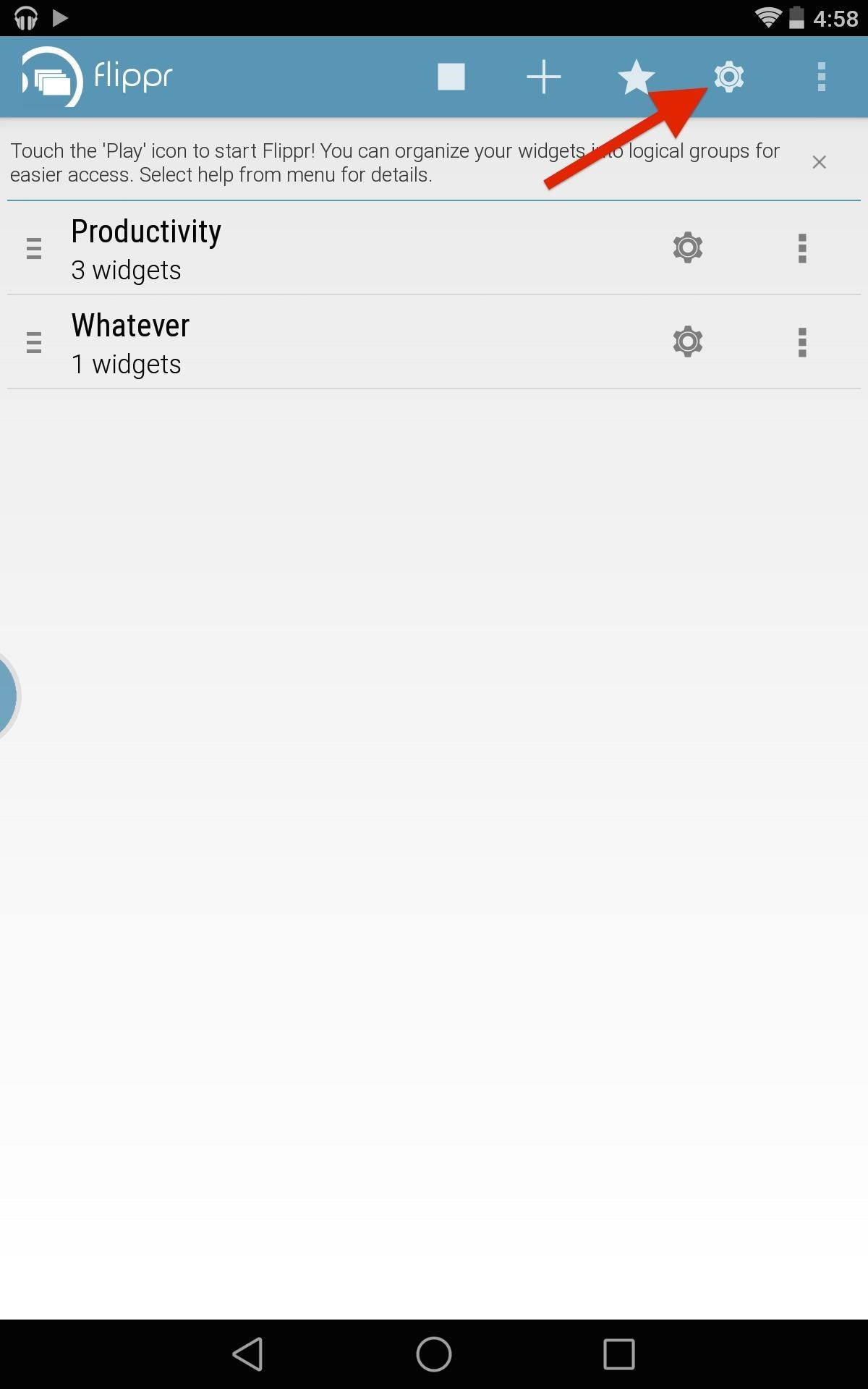 Access Widgets from Anywhere on Android