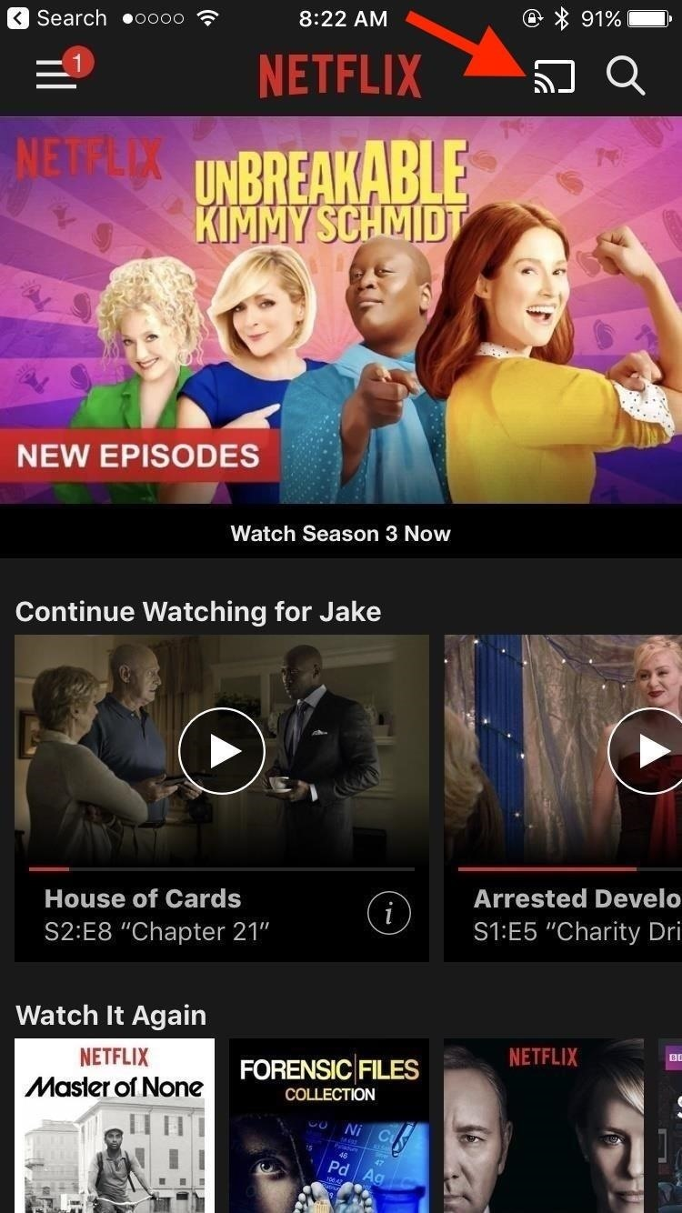 Netflix 101: How to Cast Shows & Movies from Your Phone to Your TV
