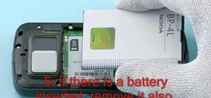 Disassemble a Nokia N97 smartphone