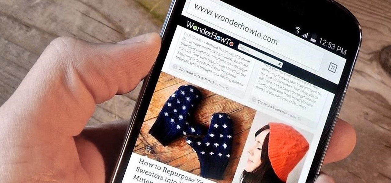 Use the Volume Keys for Page Scrolling on Android