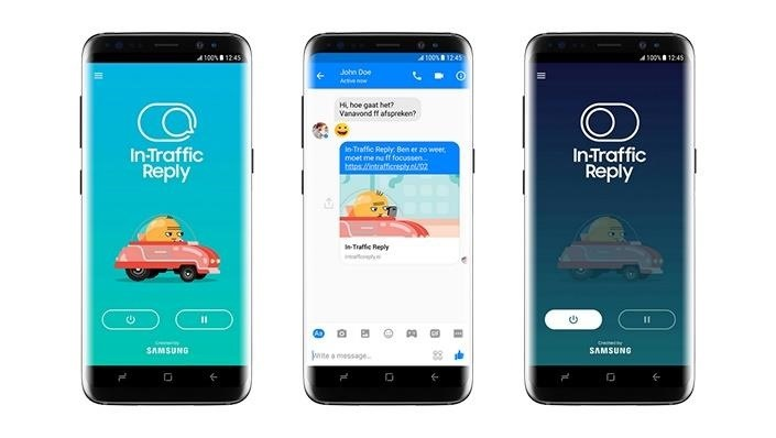 Say Goodbye to Texting & Driving, Thanks to This New App from Samsung
